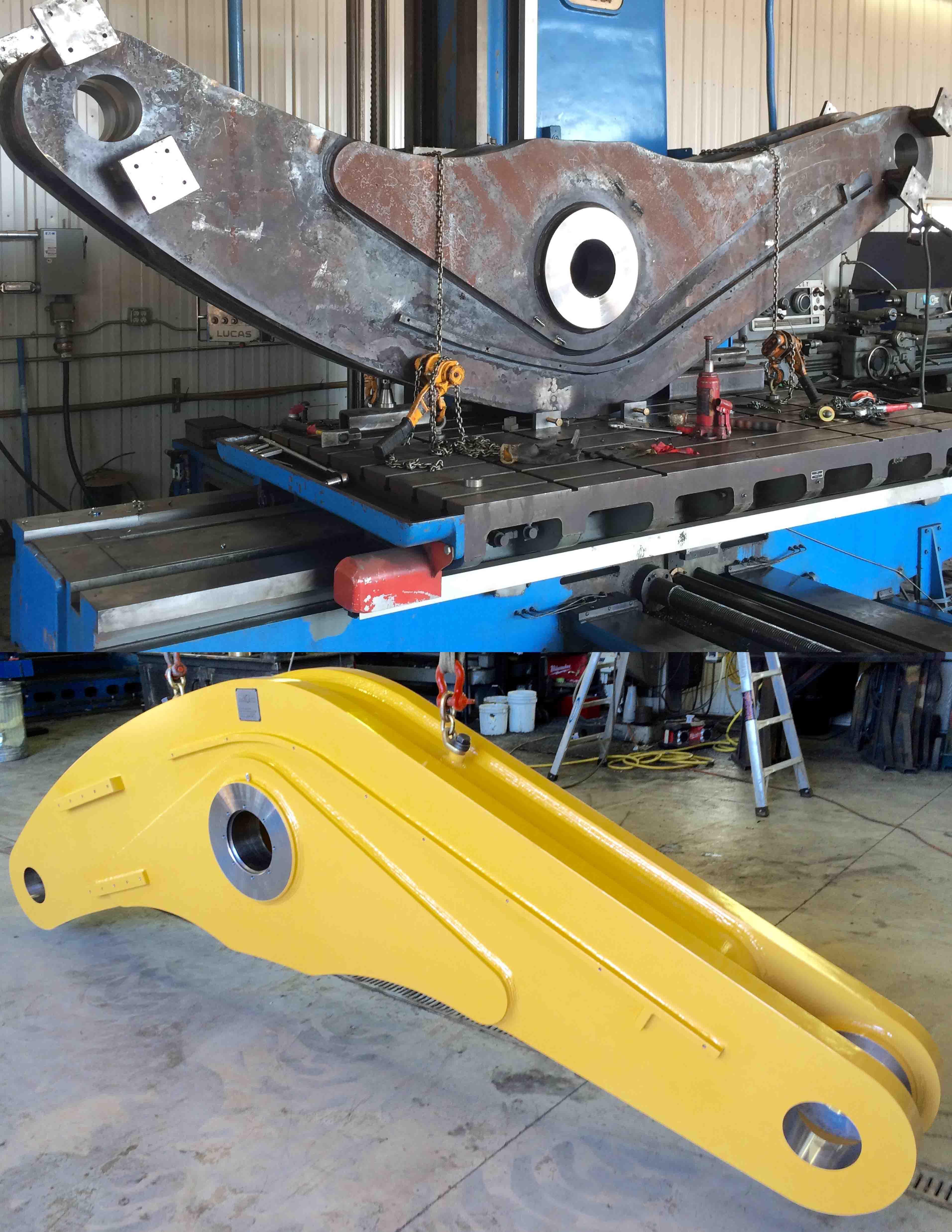 bell crank repair